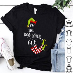 Beautiful I'm The Dog Lover Elf Ugly Christmas Sweater Pajama shirt