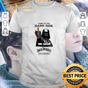Cool Darth Vader come to the dark side we have Jack Daniel's whiskey shirt