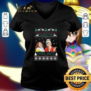Cool Patsy And Edina Sweetie Darling Christmas shirt
