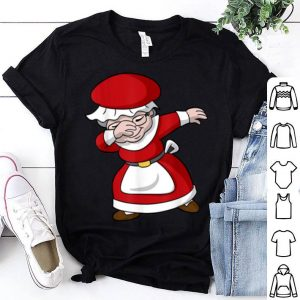 Hot Dabbing Christmas Mrs Claus shirt