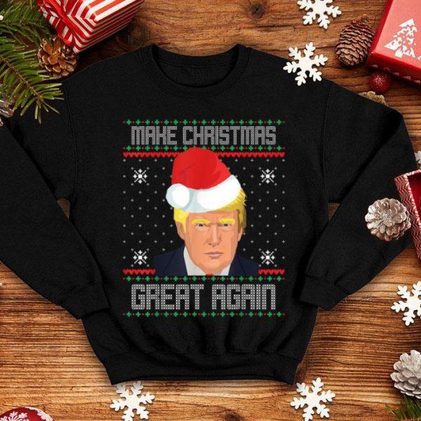 Hot Make Christmas Great Again Trump 2020 Ugly Sweater shirt