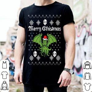 Hot Merry Cthistmas Cthulhu Ugly Christmas Sweater sweater