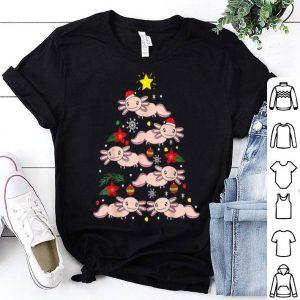 Nice Axolotl Christmas Ornament Tree Funny Zookeeper Gift shirt