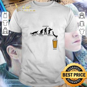 Nice Beer Monday Tuesday Wednesday Thursday Friday shirt
