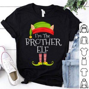 Nice Christmas Family Matching Costume I'm The Brother Elf Xmas shirt