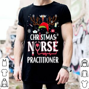 Nice Christmas NURSE PRACTITIONER Funny Xmas Gift Nurse shirt