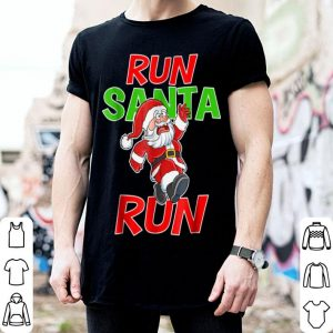 Nice Christmas Running Gift Santa Run 5k Race Runner Tee sweater