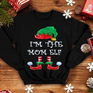 Nice I'm The Mom Elf Christmas Matching Family Group shirt
