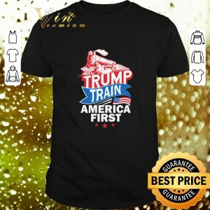 Nice Trump Train America first shirt