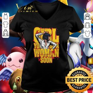 Nice Urge Overkill Girl you be a woman soon Mia Wallace shirt