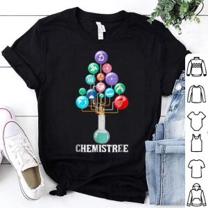 Nice chemistree science chemistry lover christmas gift shirt