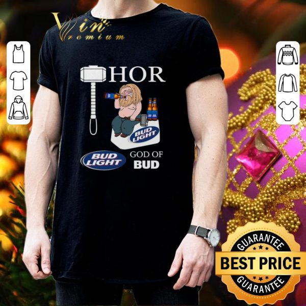 Official Avengers fat Thor God of Bud Light shirt