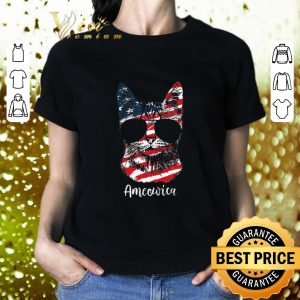 Official Cat Ameowica 4th of July Independence Day American flag shirt
