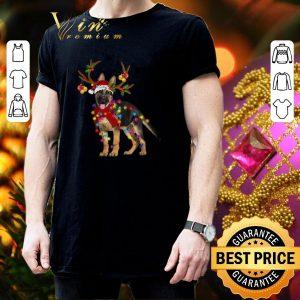 Official German Shepherd santa reindeer Christmas shirt 2
