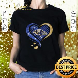 Official Glitter Love Baltimore Ravens shirt
