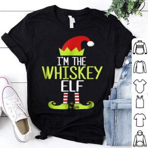 Official I'm The Whiskey Elf Christmas Family Elf Costume shirt