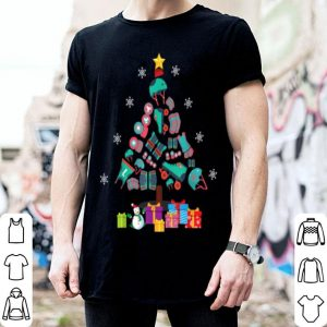 Official Roller Derby Sport Christmas Tree Christmas Gift shirt
