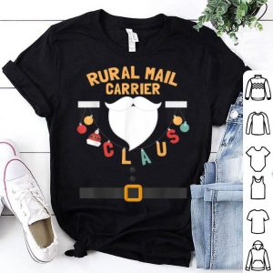 Official Rural Mail Carrier Claus Santa Costume Funny Xmas Gifts shirt