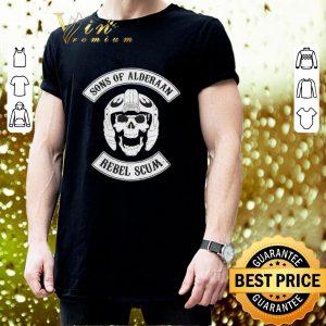 Official Skull Sons Of Alderaan Rebel Scum shirt 2