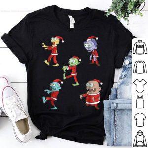 Original Cute X-Mas Zombie Santa Funny Christmas Gift shirt