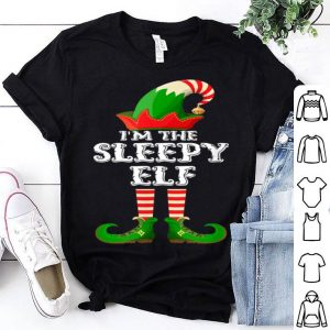 Original Sleepy Elf - Funny Matching Family Group Christmas Gifts shirt