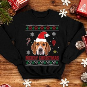 Original Treeing Walker Coonhound Dog Santa Ugly Costume Xmas shirt