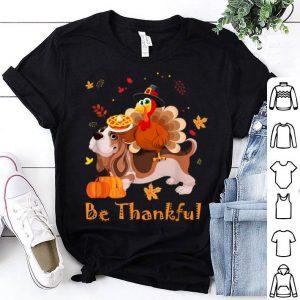 Premium Basset Hound Dog Lover Turkey Thanksgiving Day Gifts shirt