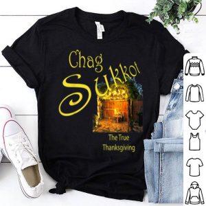 Pretty Chag Sukkot Feast of Tabernacles Thanksgiving Hebrew shirt