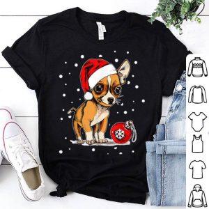 Pretty Chihuahua Christmas Cute Chihuahua Lovers Xmas Gift Funny shirt