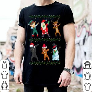 Pretty Dabbing Santa Cane Corso And Friends Christmas shirt