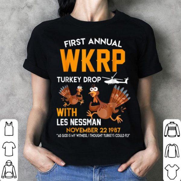 Pretty Funny WKRP-Turkey-Drop Thanksgiving Gift for men women shirt