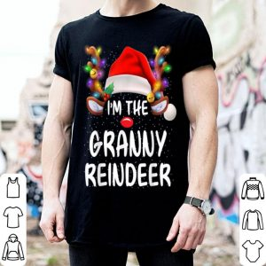 Pretty I'm The Granny Reindeer Matching Family Christmas Funny Gift sweater
