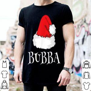 Top Christmas Bubba Family Matching Pajama Santa Hat shirt