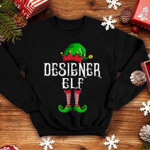 Top Designer Elf Xmas Elves Matching Family Group Christmas Gift sweater