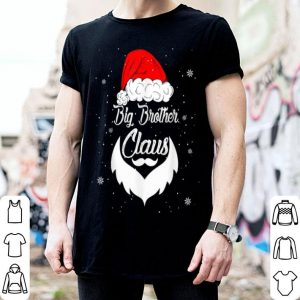 Top Funny Christmas Big Brother Santa Hat Matching Family Xmas shirt