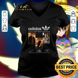 Top adidas all day i dream about Supernatural signatures shirt