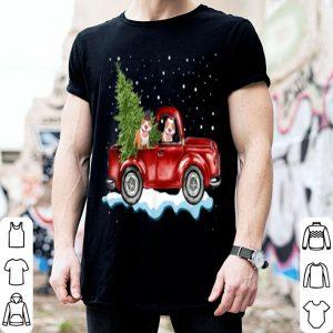 Awesome Pitbull Dog Pickup Truck Christmas sweater