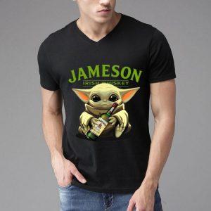 Baby Yoda Hug Jameson Irish Whiskey shirt