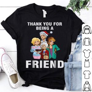 Beautiful Thank You For-Being A Golden Friend Girls Christmas sweater