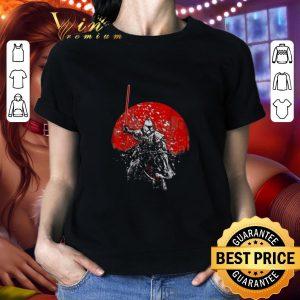 Cool Samurai Mandalorian Star Wars shirt