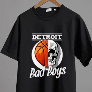 Hot Skull Basketball Detroit Bad Boys shirt