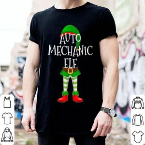 Nice Auto Mechanic Elf Matching Family Christmas Gift design sweater
