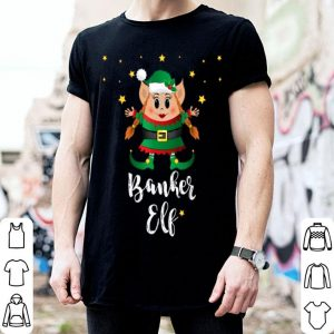 Nice Banker Women Elf Matching Family Group Elves Christmas sweater