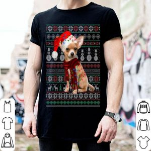 Nice Chihuahua Dog Ugly Christmas Sweater Funny Xmas Gift sweater