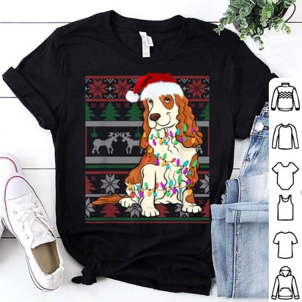 Nice Cocker Spaniel Ugly Sweater Christmas Gift sweater