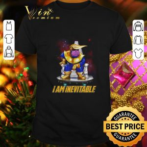 Nice Marvel Avengers Endgame Thanos Trump I am Inevitable shirt