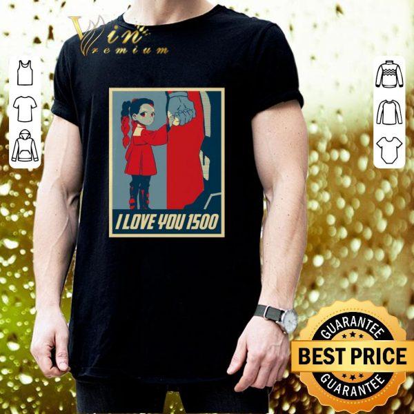 Nice Morgan Stark I Love You 1500 shirt