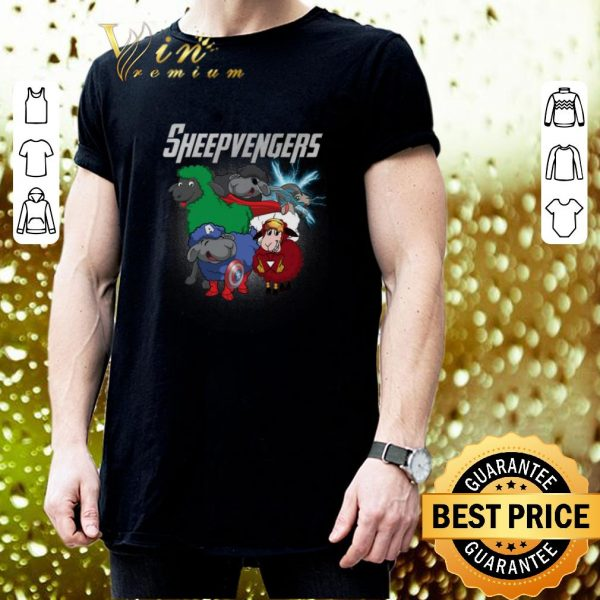 Nice Sheep Marvel Avengers Endgame Sheepvengers shirt