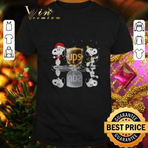 Nice Snoopy Ups water mirror reflection Christmas shirt