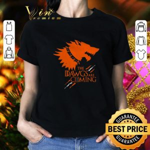 Nice The Dawgs Are Coming Cleveland Browns shirt